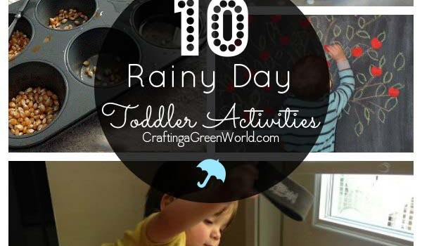 10 Rainy Day Activities for Toddlers