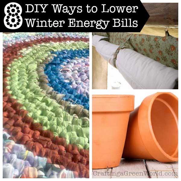 8 DIY Winter Energy Saving Tips