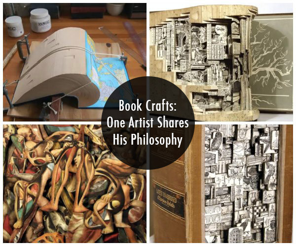 Brian Dettmer Uses Old Books in Stunning New Ways