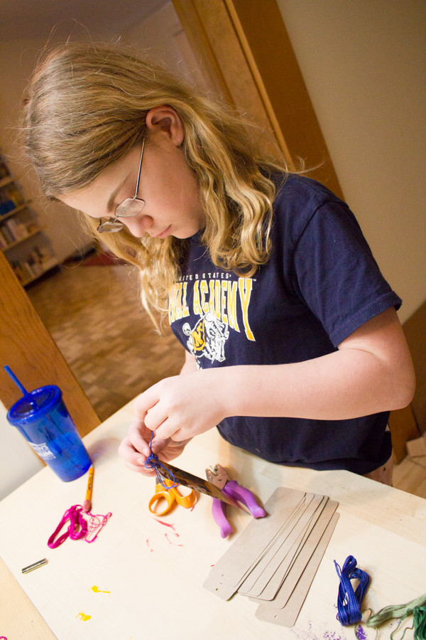 How to Make a Bookmark from a Girl Scout Cookie Box