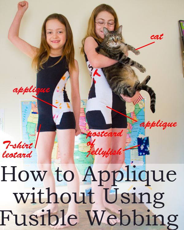 How to Applique without Using Fusible Webbing