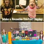 Make a Reusable Tri-Fold Display Board