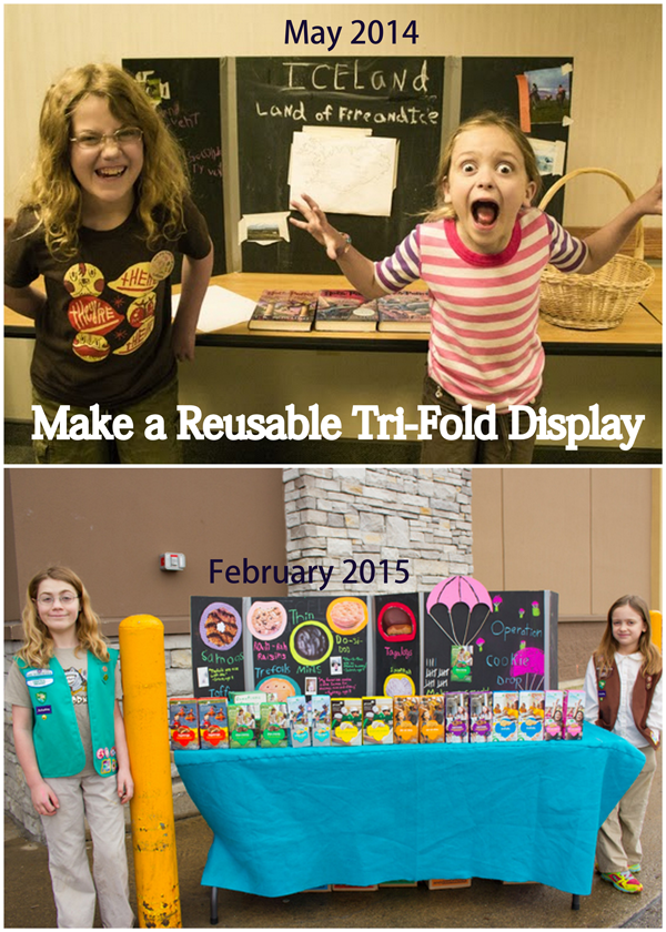 make a science fair board that your kids can use over and over - Tri Fold Display Board Design Ideas