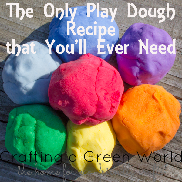 The Only Play Dough Recipe that You'll Ever Need