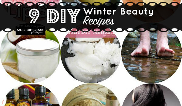 Winter Beauty Tips: 9 DIY Recipes for Healing Winter Skin