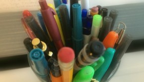 office supplies for your craft stash