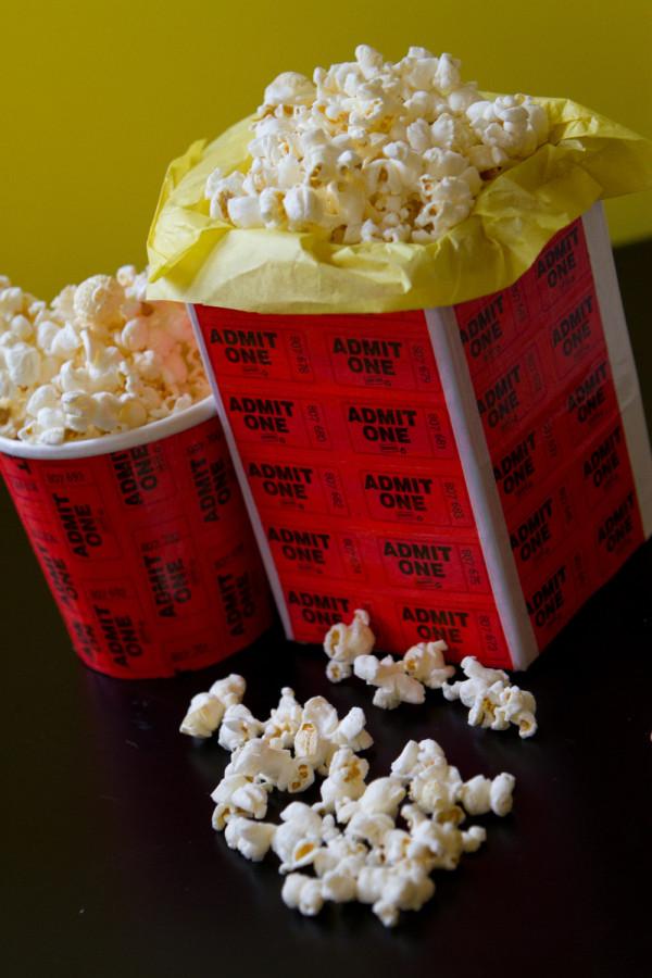 Movie Night Ideas: Make a DIY Popcorn Tub