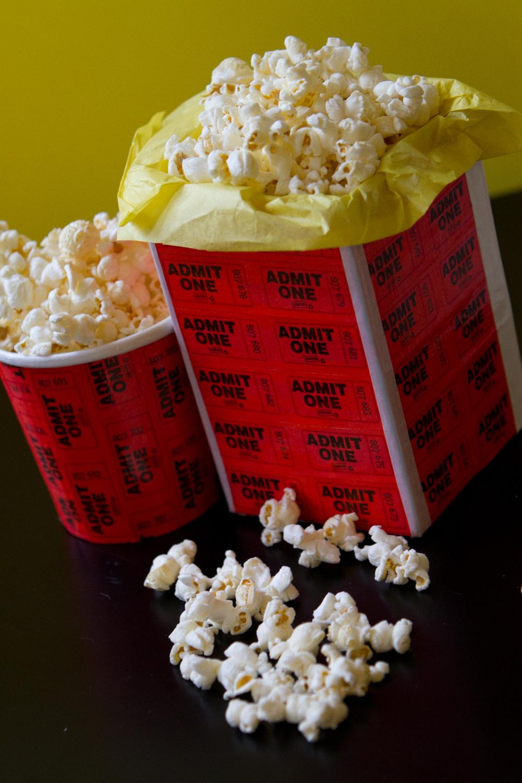 DIY Popcorn Tub