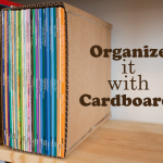 DIY Projects for Home: Getting Organized with Cardboard!