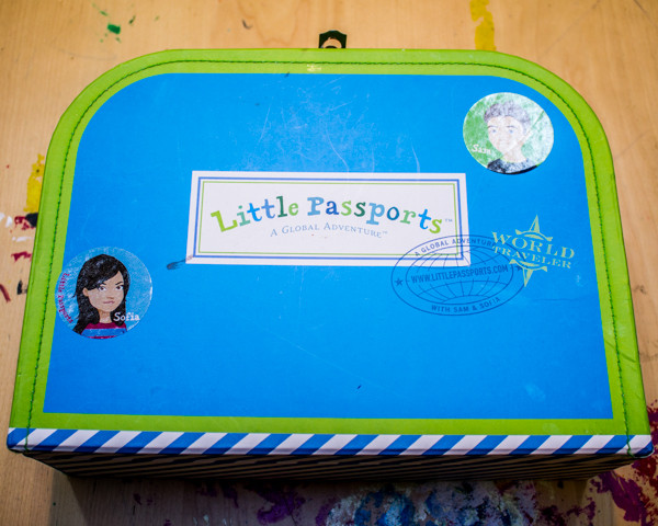 Kid-Made Decoupaged Lunch Box