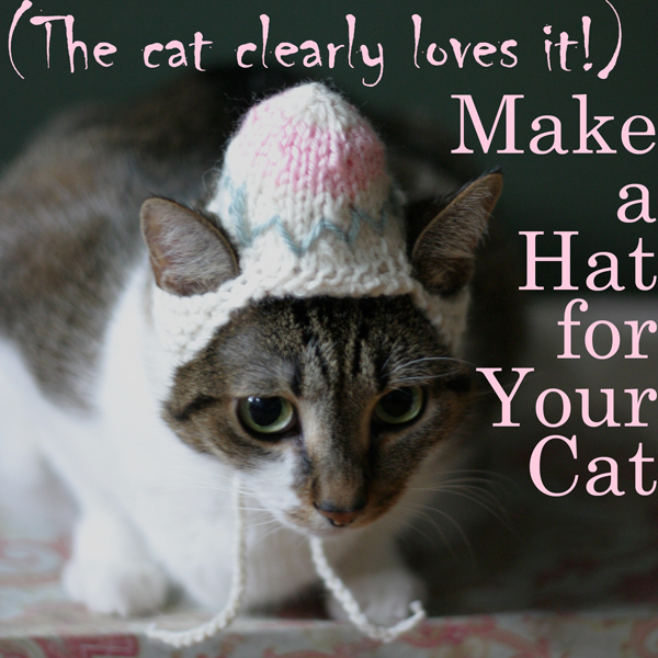 Cats in Hats: You're Welcome (+ giveaway!)