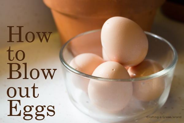 How to Blow out an Egg