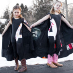 Superhero Costumes Sewn from Old T-Shirts