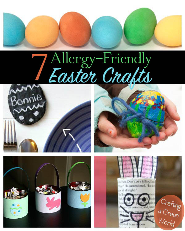 Egg Free Easter Crafts Vegan And Allergy Friendly