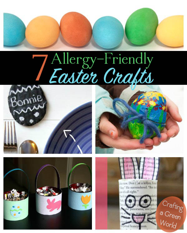 7 Egg-Free Easter Crafts (vegan and allergy-friendly)