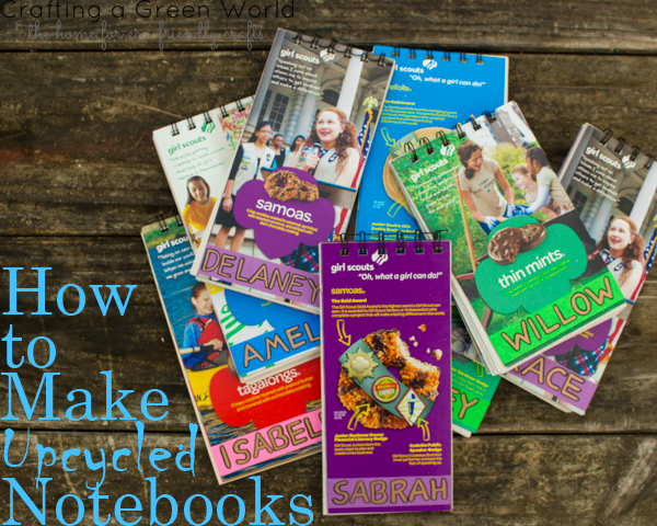 DIY School Supplies: How to Make an Upcycled Notebook