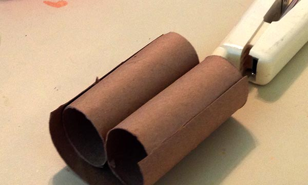 Cardboard Binoculars Craft for Two to Four Year Olds