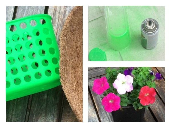 Shower Caddy Planter