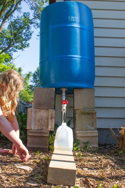 Plastic Jug Watering Can