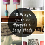 DIY decor doesn't have to mean creating a new decor piece from scratch! Take the pieces you already have and give them a makeover instead. There are so many ways to create DIY lampshades by updating an existing one rather than buying new.