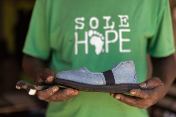 Sole Hope: Your Old Jeans Can Save Kids' Lives
