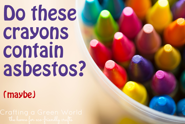 Asbestos Found in Some Crayons