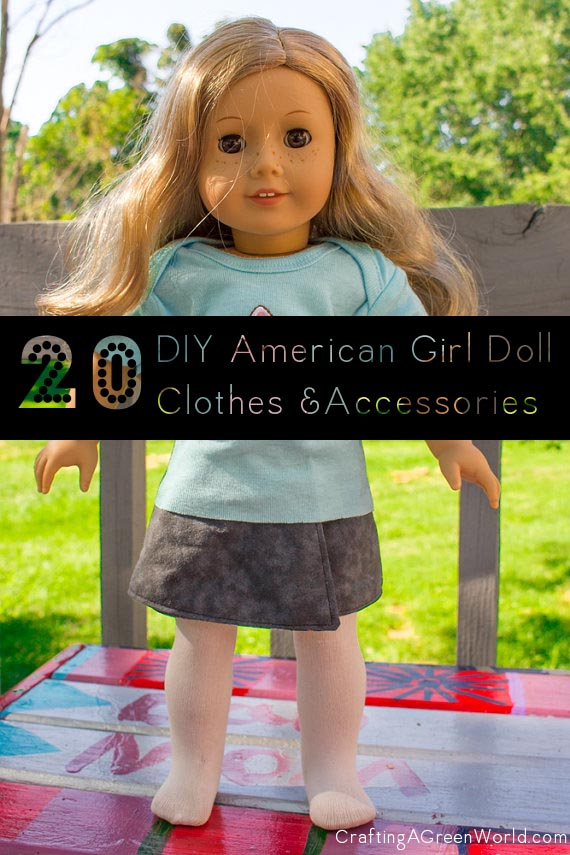 DIY American Girl Doll Clothes and Accessories
