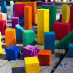 Create a brand-new DIY building block set for your kid from scratch or embellish and personalize a set of blocks that you already own!