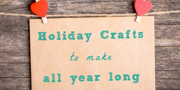 Holiday Crafts: Green Holiday Craft Ideas for All Year Round!