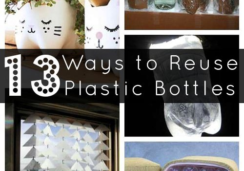 The best way to reduce the number of plastic bottles in landfills is to avoid buying them in the first place. Reuse is second best, but when you can't avoid them, try one of these clever plastic bottle reuses to give them a new life!