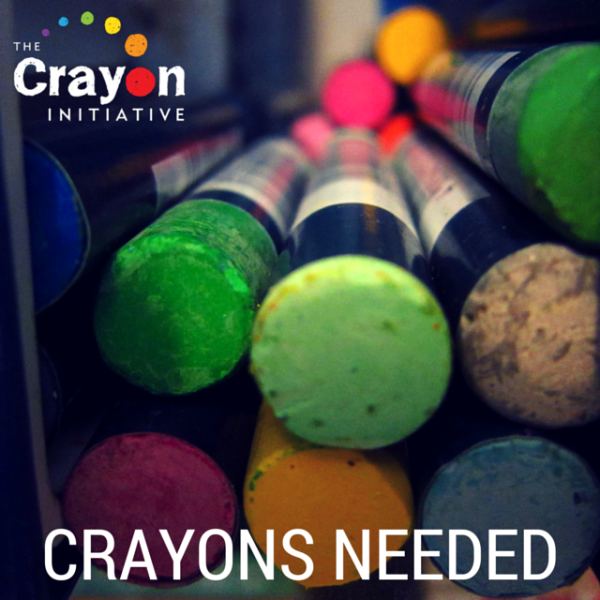 Upcycle Crayons into a Good Cause with the Crayon Initiative