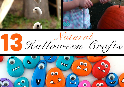Halloween Nature Crafts To Make With Your Kids