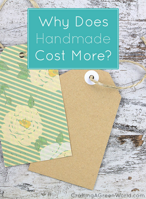 Explaining the cost of handmade goods to your customers can be tough. Here are some ways that you can make it easier!