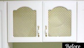 Want to easily update your outdated kitchen cabinets? Here's how!