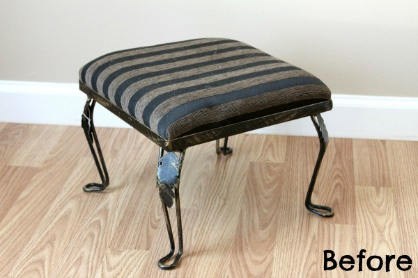 How to Reupholster a Footstool in 7 Steps