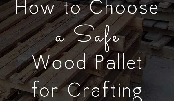 Not all wood pallets are created equal! If you've got a DIY pallet project in the works, it's important to learn how to tell if wood pallets are safe.