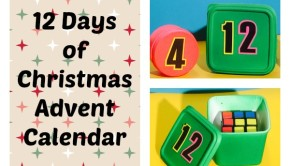 25 days? Who has time for that? A 12 Days of Christmas Advent Calendar is something we all have time to craft up! So let's do this!!!