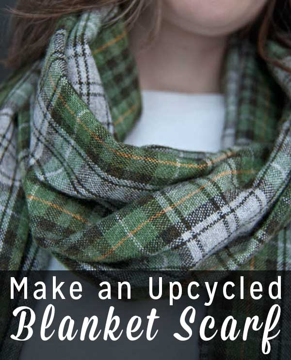 Now that holiday craziness is winding down, settle in and do a bit of crafting that's just for you. Here's how to make a blanket scarf. It's a quick, easy, and satisfying sewing project that even beginners can do!