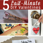 Valentine's Day is coming up in less than two weeks. Still haven't picked up a card? We've got you covered with these last-minute DIY Valentines!