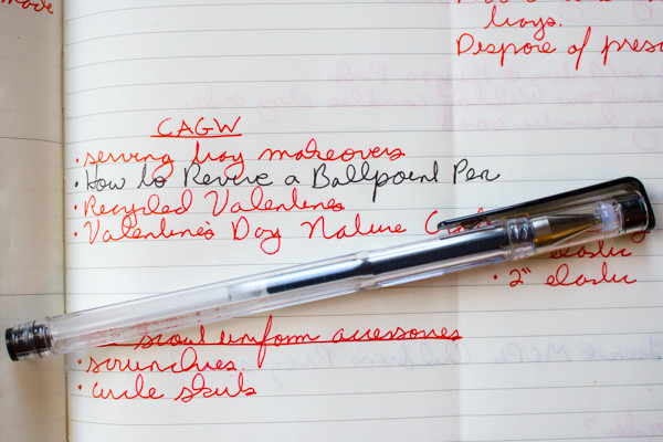 How to Repair a Dried-out Ballpoint Pen