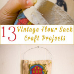 Did you score a vintage flour sack at the thrift? Here are 13 projects that turn it into something awesome.