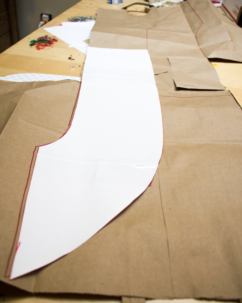 How to Make a Brown Paper Bag Sash