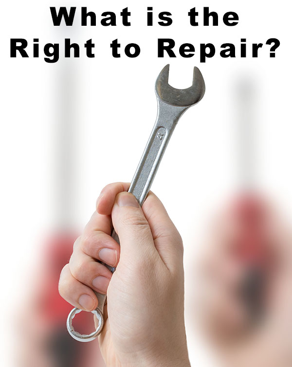 Did you know that copyright law might stand between you and your right to repair something that you bought with your money?