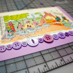 upcycled collage greeting card from The Complete Photo Guide to Cardmaking
