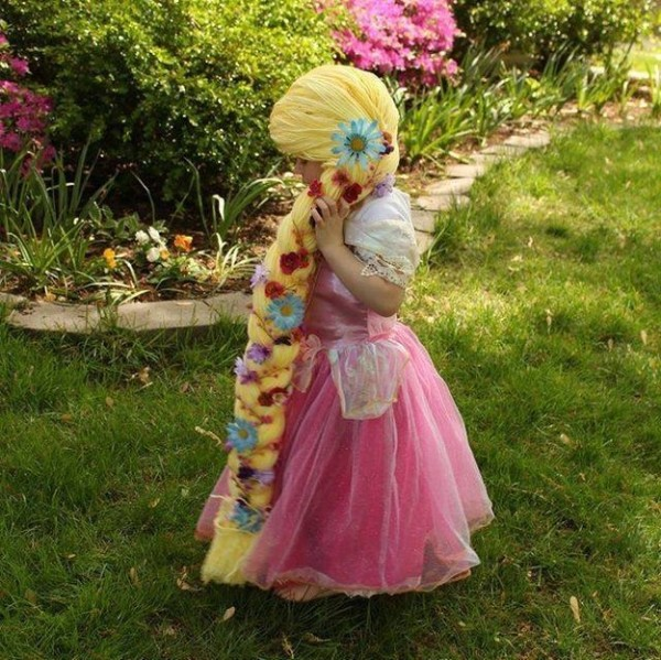 The Magic Yarn Project makes the lives of kids with cancer better, one yarn princess wig at a time.
