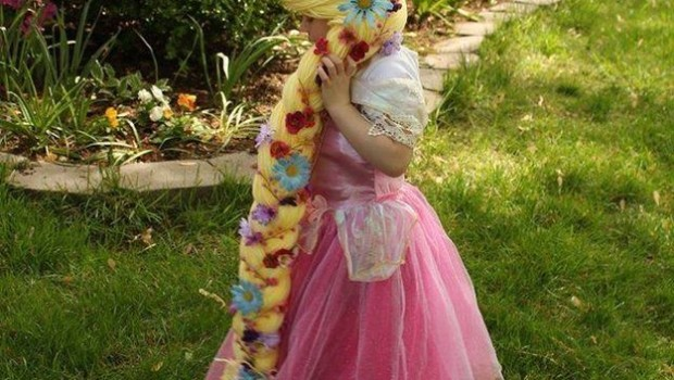 The Magic Yarn Project makes the lives of kids with cancerbetter, one yarn princess wig at a time.