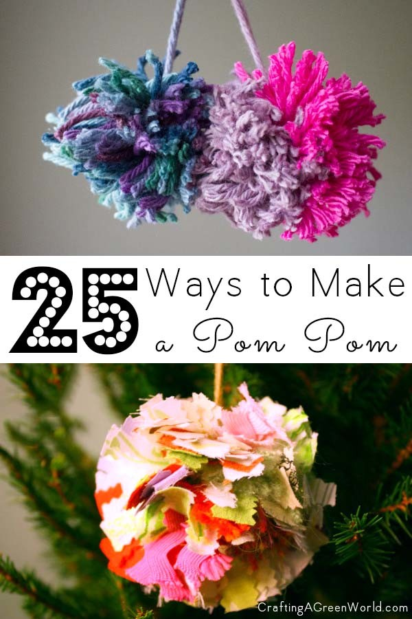 Do you have any DIY pom pom crafts to add to my list?