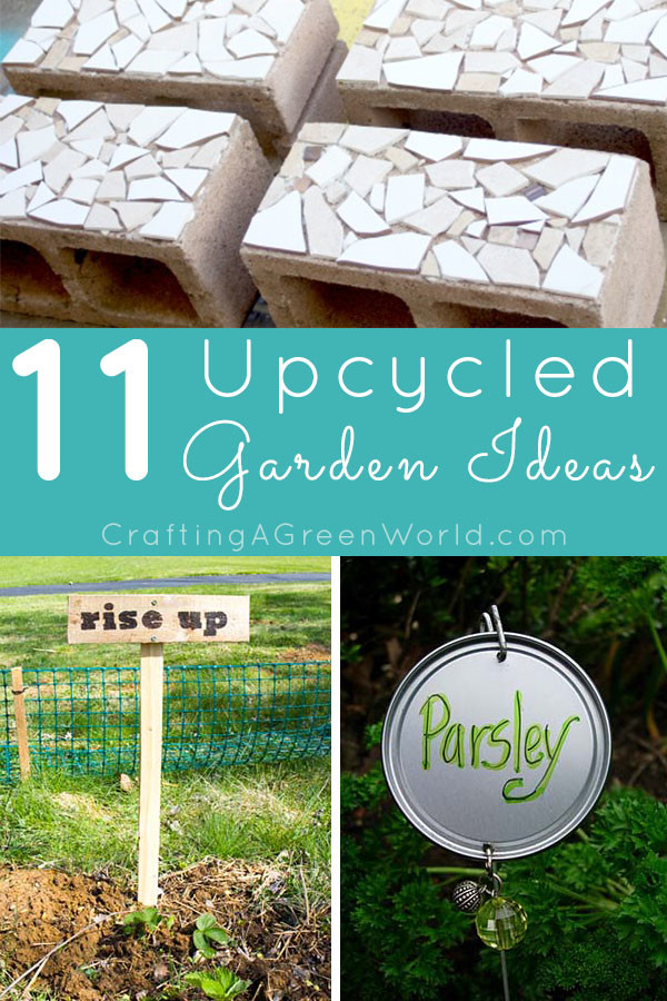 Garden Decorations Part - 25: 11 Upcycled Garden Decorations