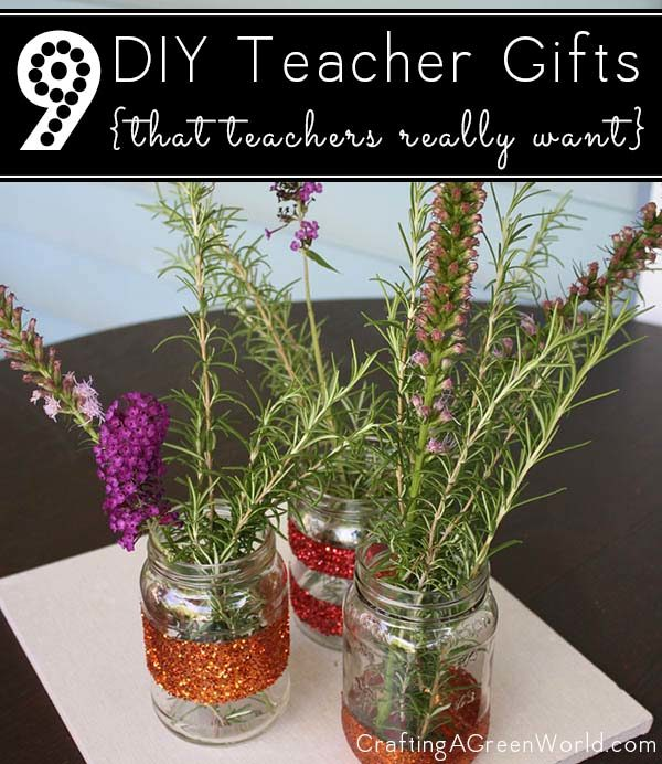 These are DIY teacher appreciation gift ideas that your kids' teachers will actually love.