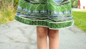 Sew a One-Seam Skirt
